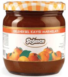 Seğmen Kayısı Marmelatı Kavanoz 500g