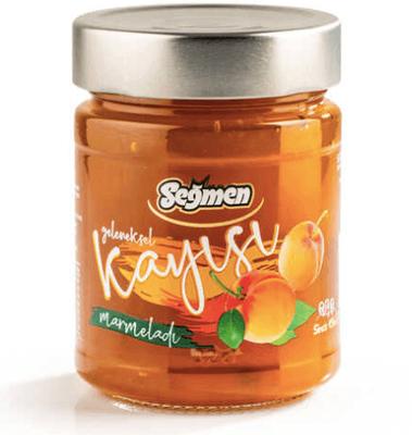 Seğmen Kayısı Marmelatı Kavanoz 370g