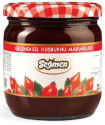 Seğmen - Seğmen Kuşburnu Marmelatı Kavanoz 500 Gr